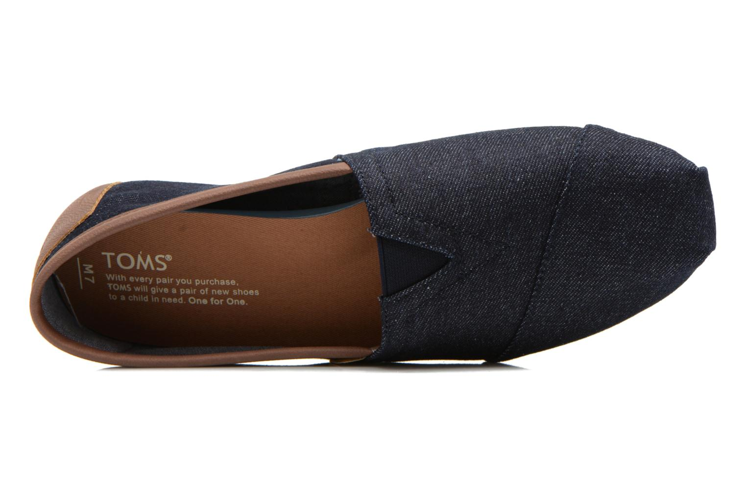 Seasonal Classics H Dark Denim Rope Sole